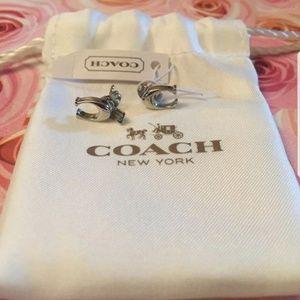 New Coach Earrings